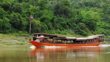 Travelling around Laos