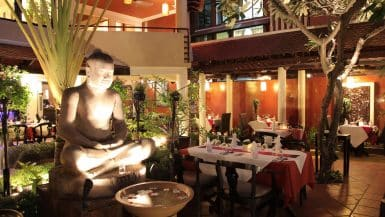 Romantic Restaurants in Phnom Penh