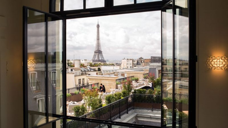 paris hotel suites