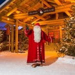 Visiting Santa In Lapland