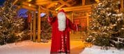 Visiting Santa In Lapland