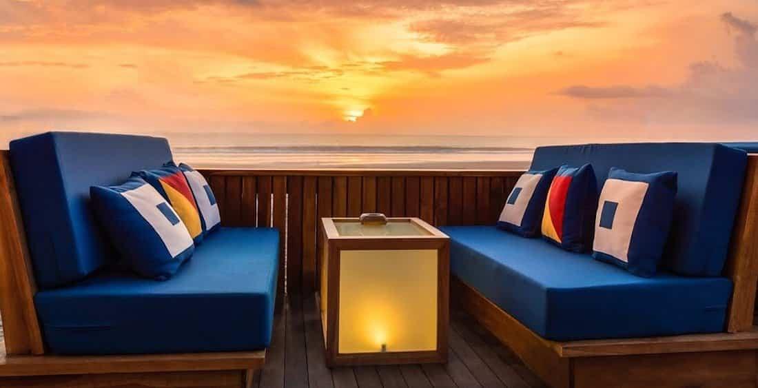 Sunset Restaurants in Seminyak Bali