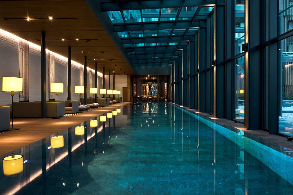 The best hotel spas in Switzerland