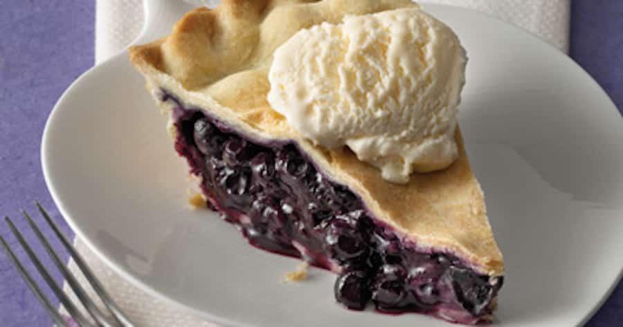 Best Blueberry Pie in Alaska