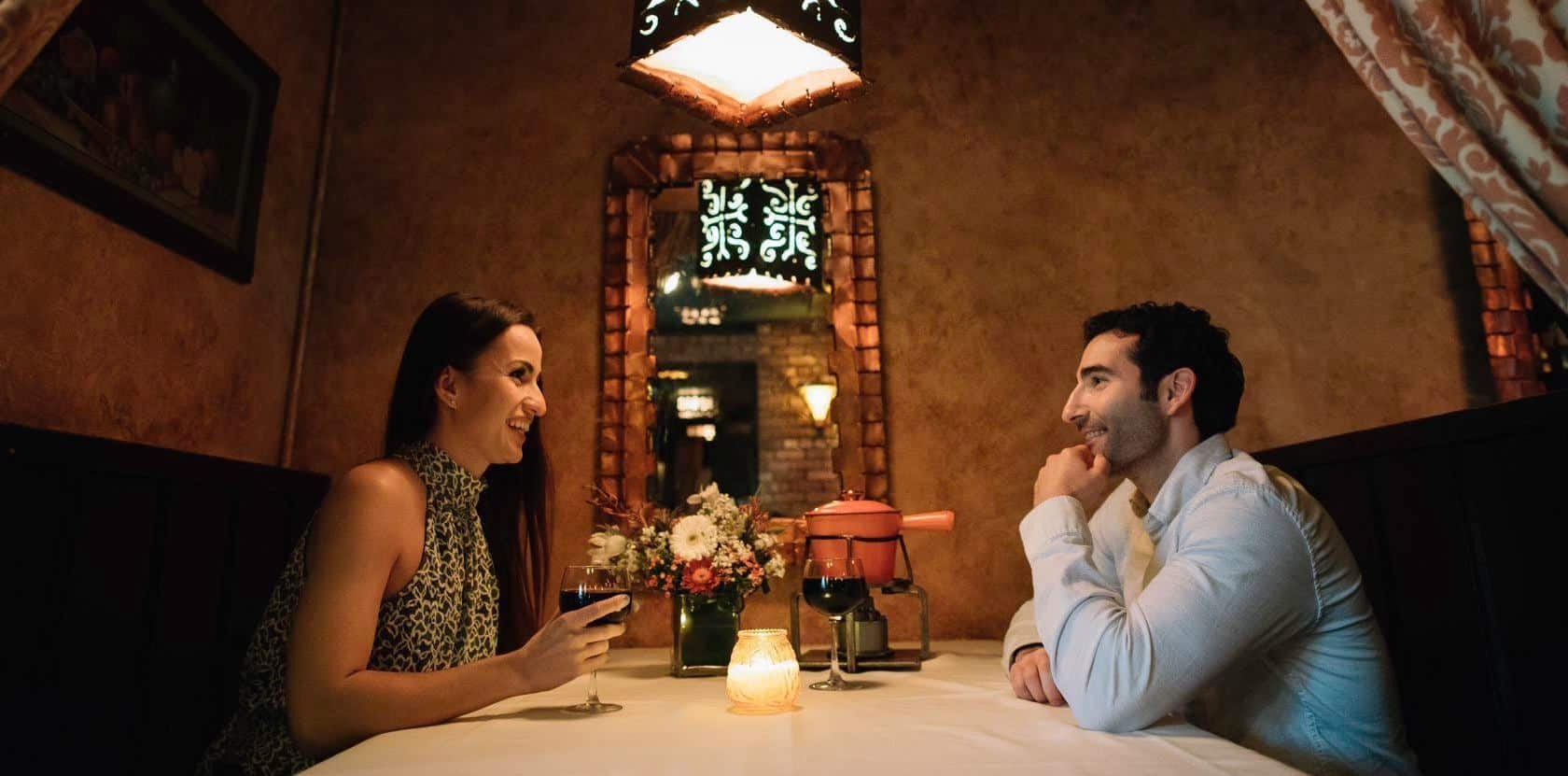 Most Romantic Restaurants in Illinois