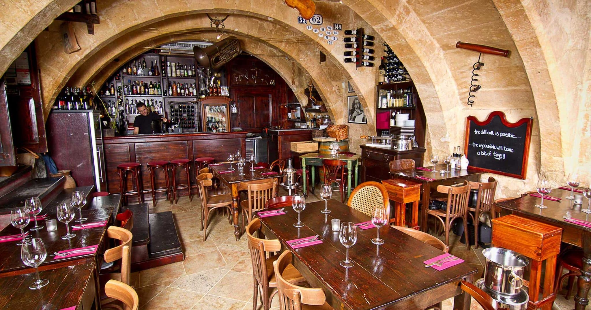 Best Wine Bars in Malta