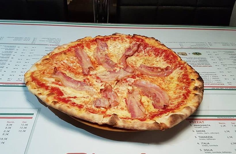 best pizzas in Finland