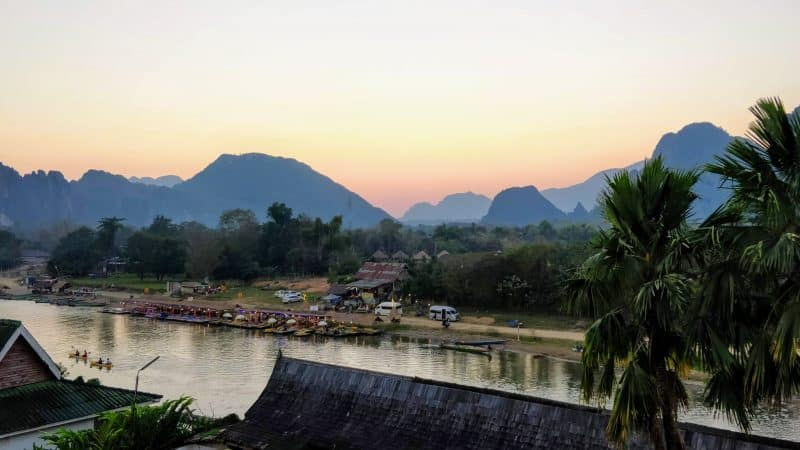 south east asia backpackers