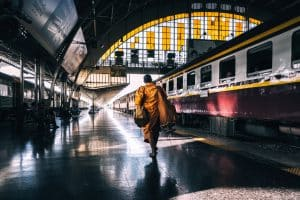 travelling thailand by train