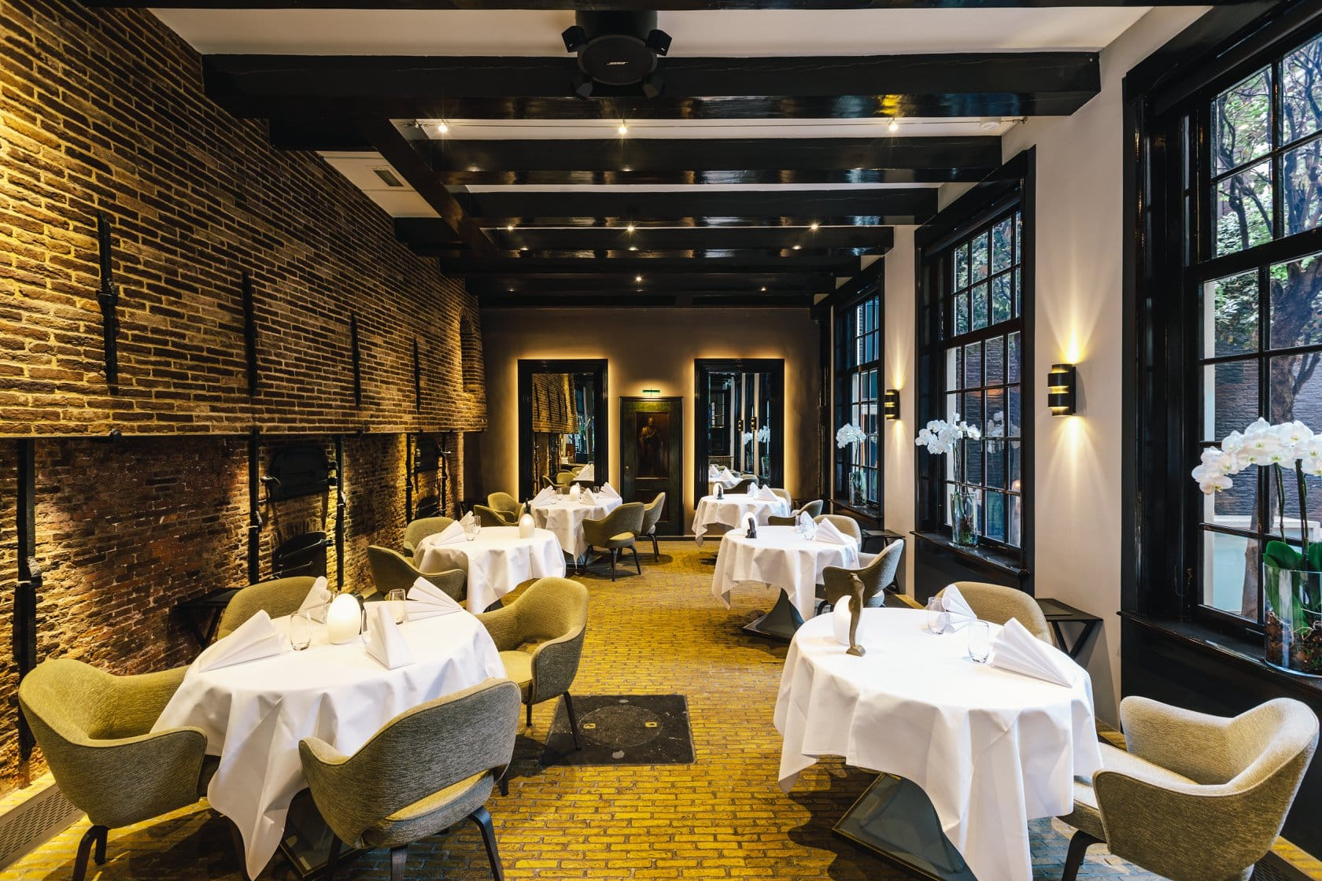 romantic restaurants Amsterdam