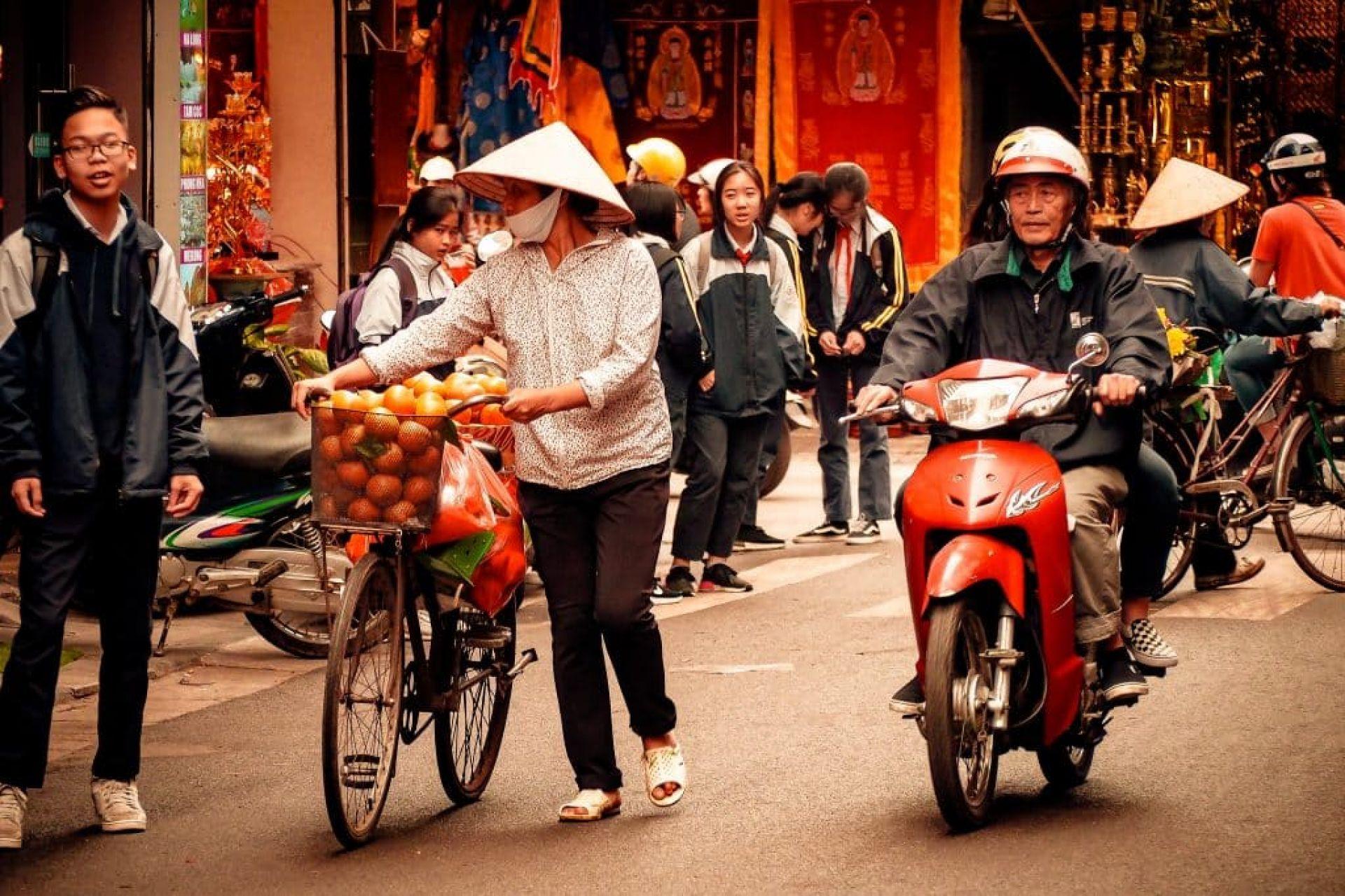 Travelling to Hanoi