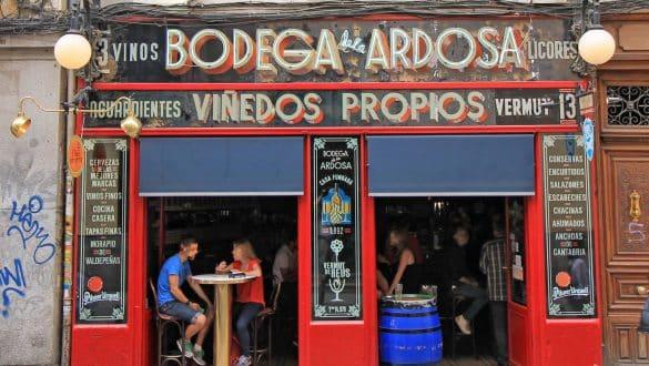 tapas bars Madrid