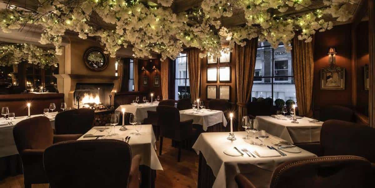 The 7 Best Restaurants For Valentine's Day In London travel