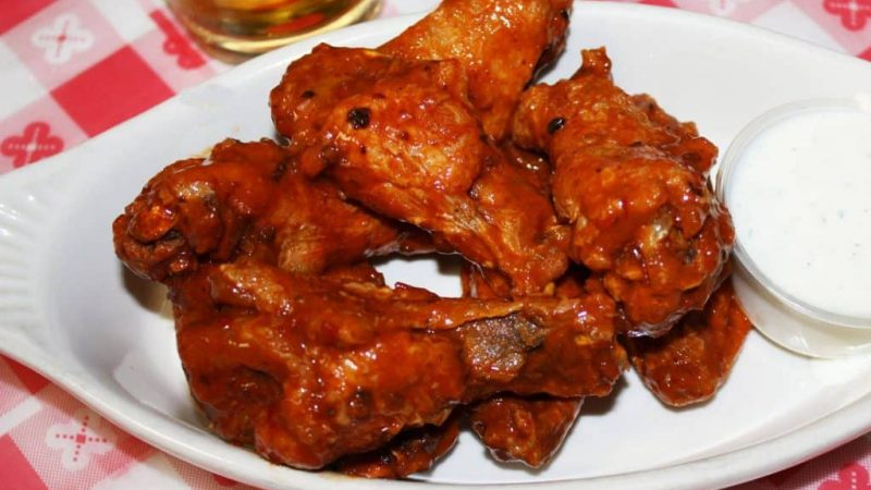Omaha chicken wings