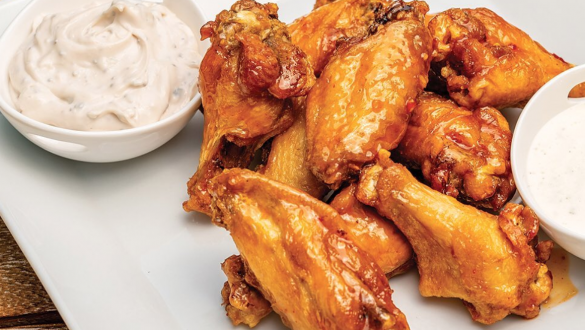 South Dakota chicken wings