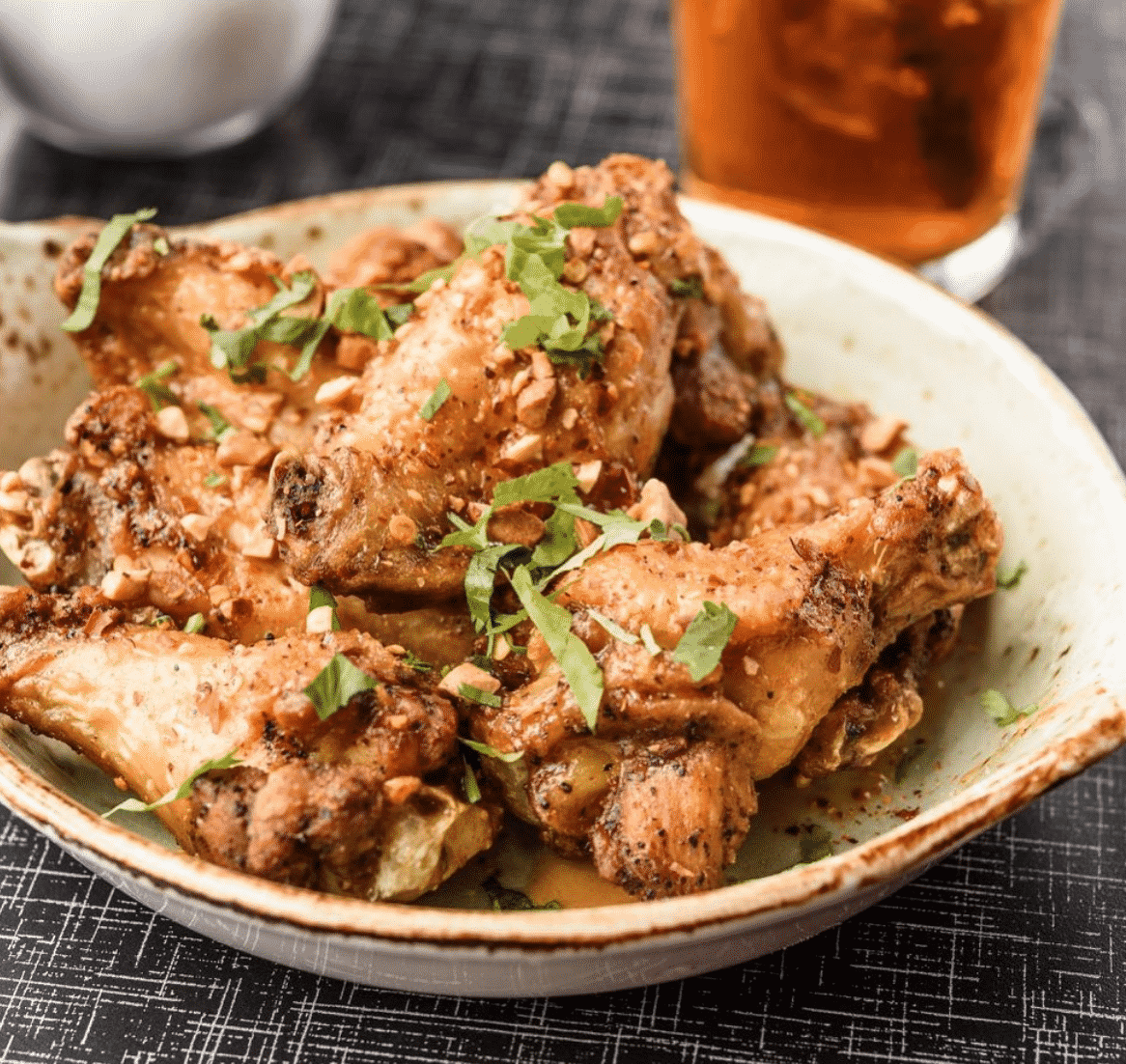 Alabama chicken wings