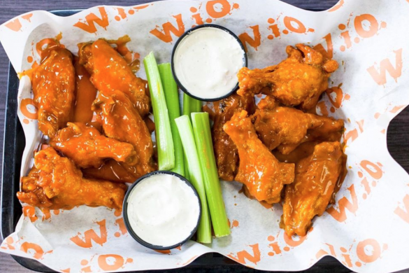 Connecticut chicken wings