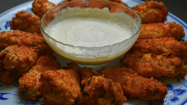 New Jersey chicken wings