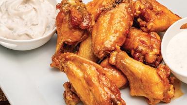North Dakota chicken wings