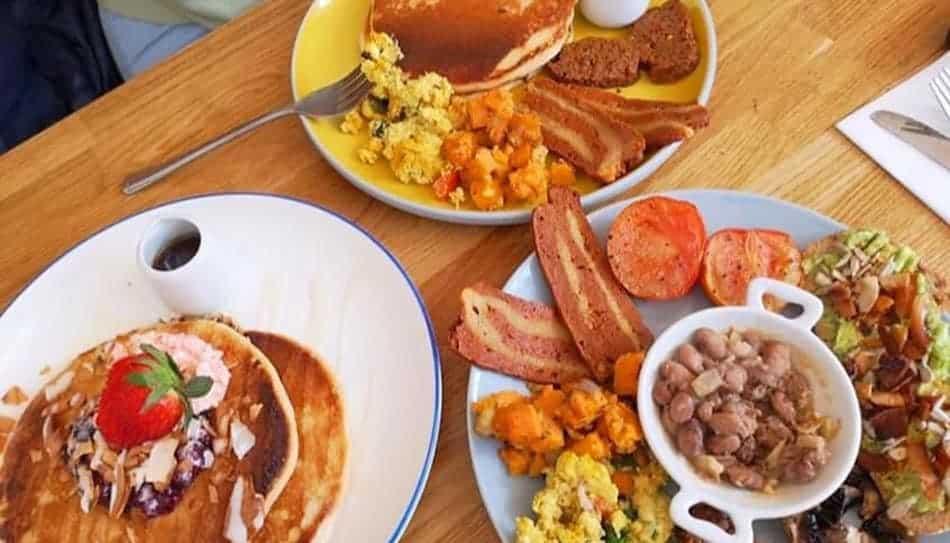 Vegan Breakfast Food in Glasgow Scotland