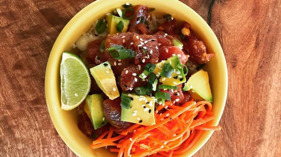 Poke Bowl Seafood in Puerto Rico