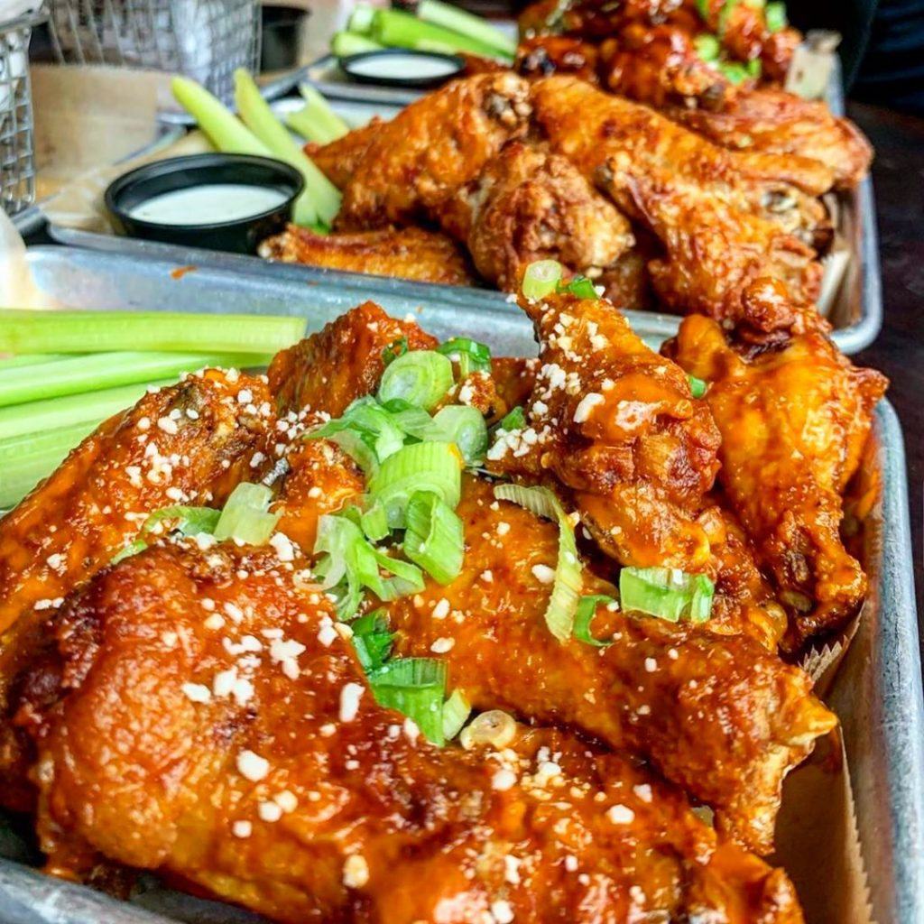 Baltimore chicken wings