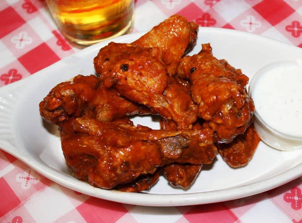 Omaha chicken wings