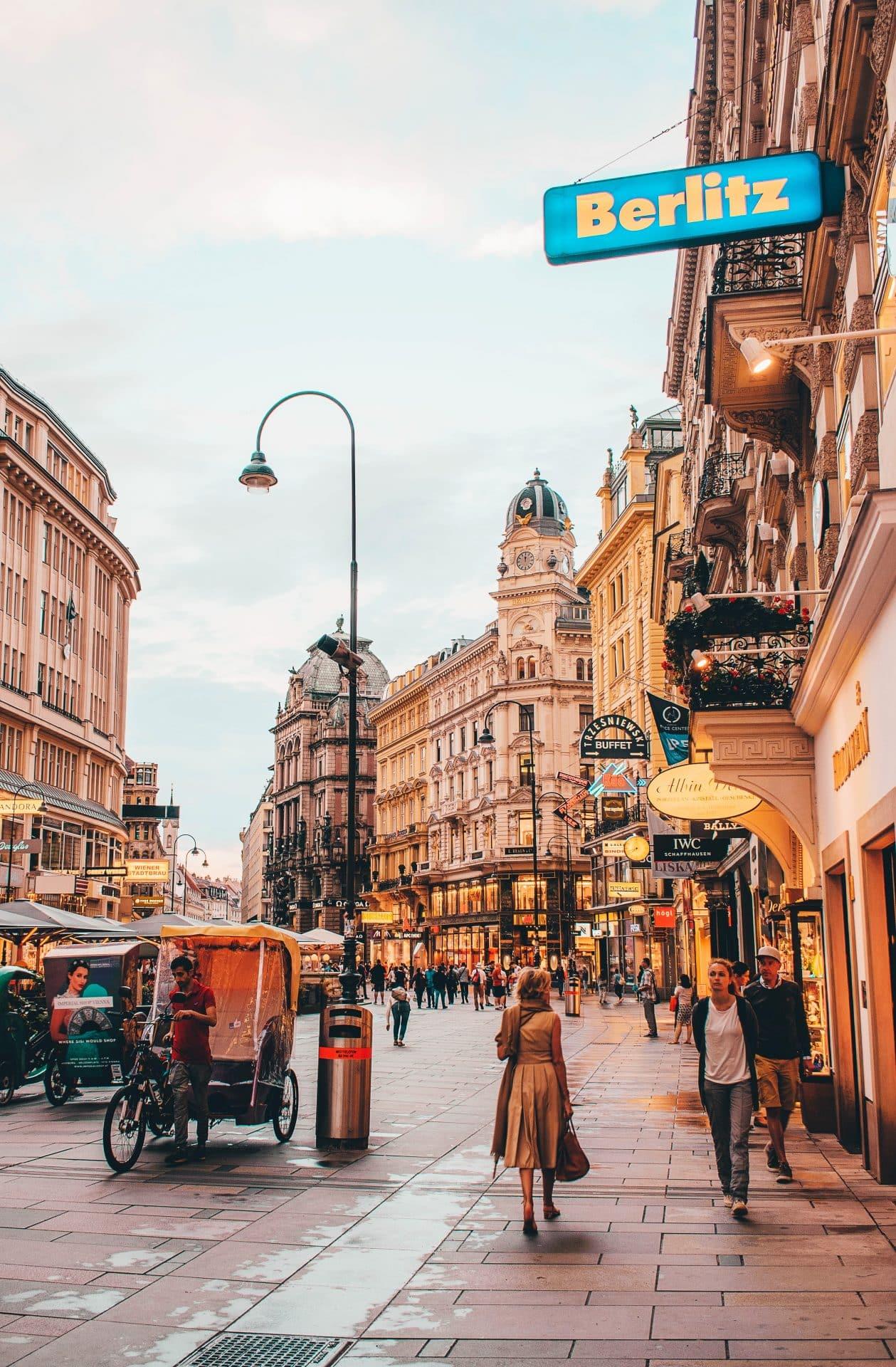 Vienna romantic getaways Europe Valentine's Day