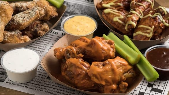 Mississippi chicken wings