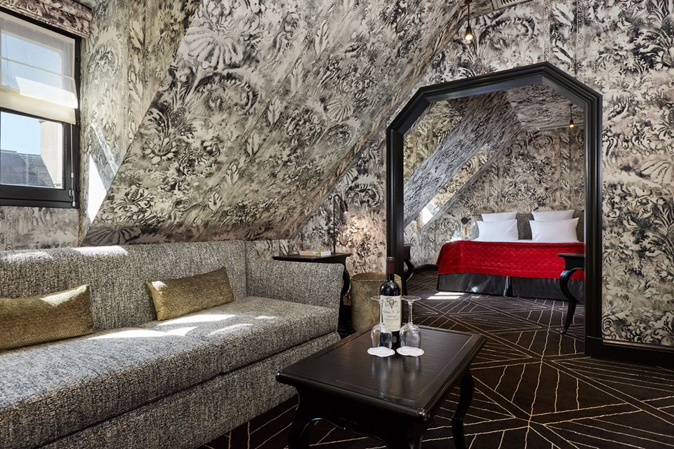 romantic hotels Paris