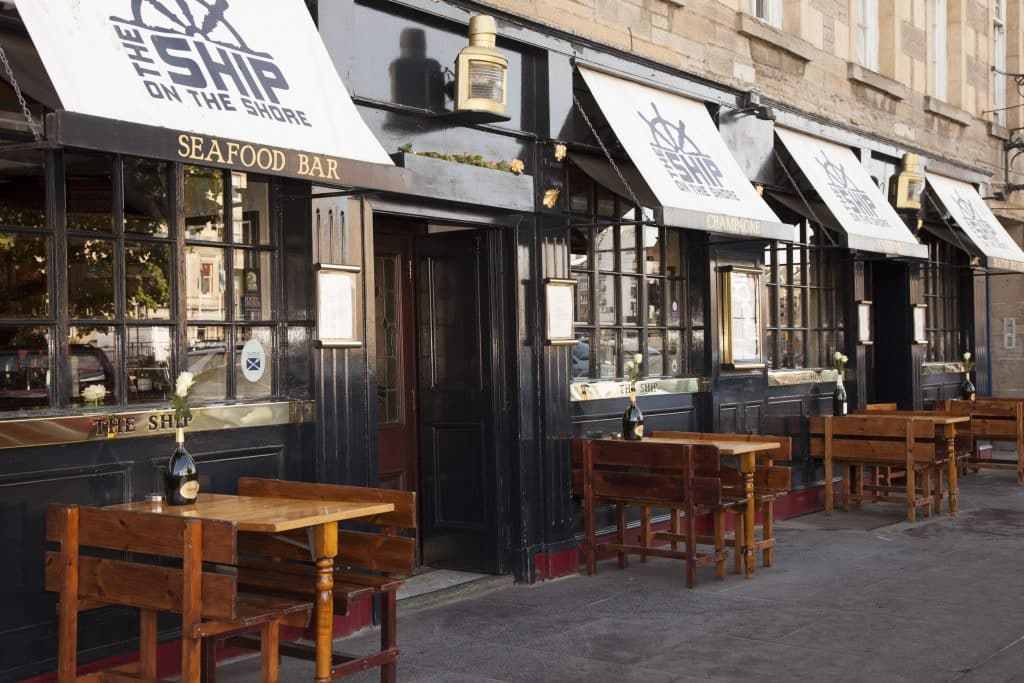 restaurants for Valentine's Day Edinburgh
