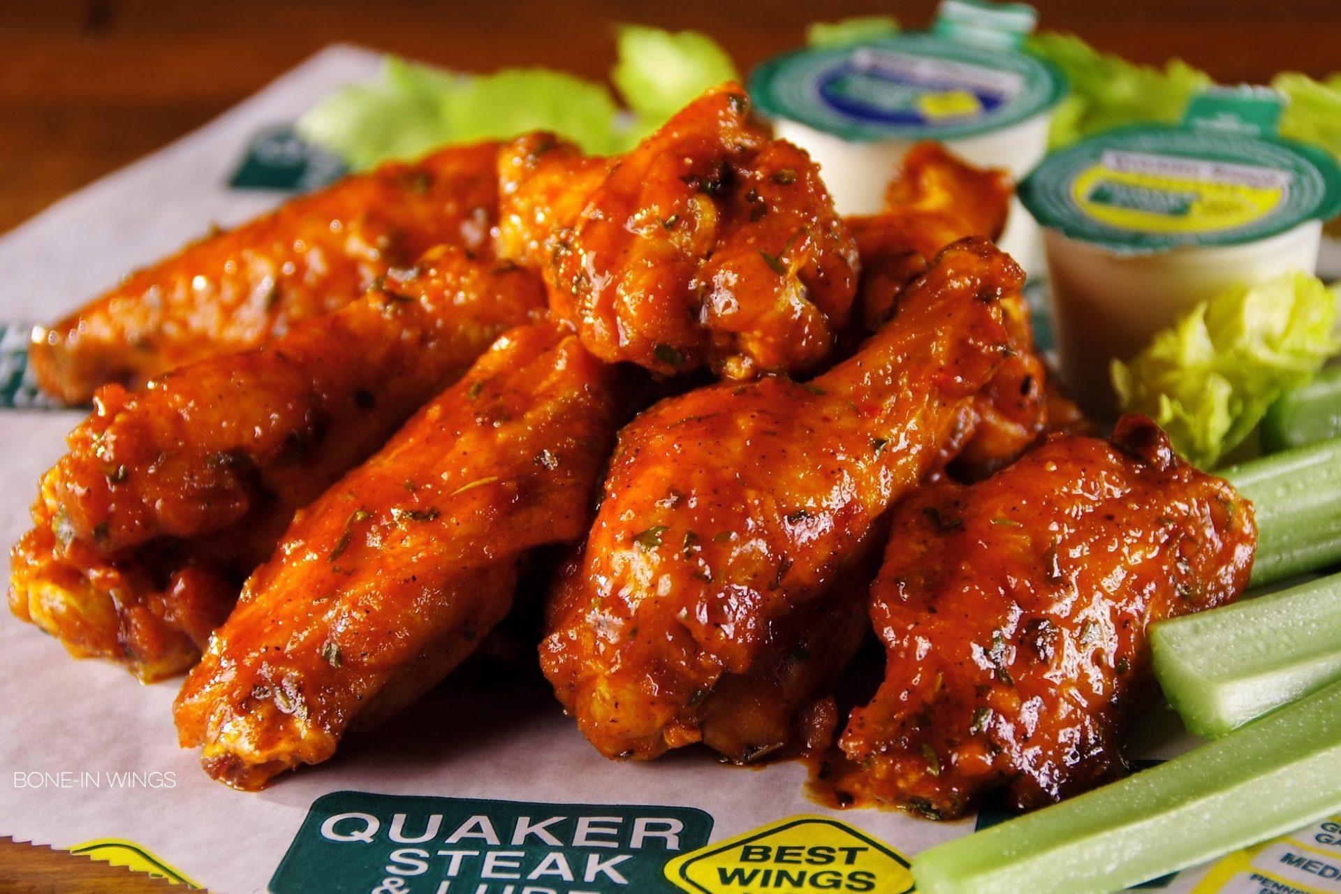 Columbus chicken wings