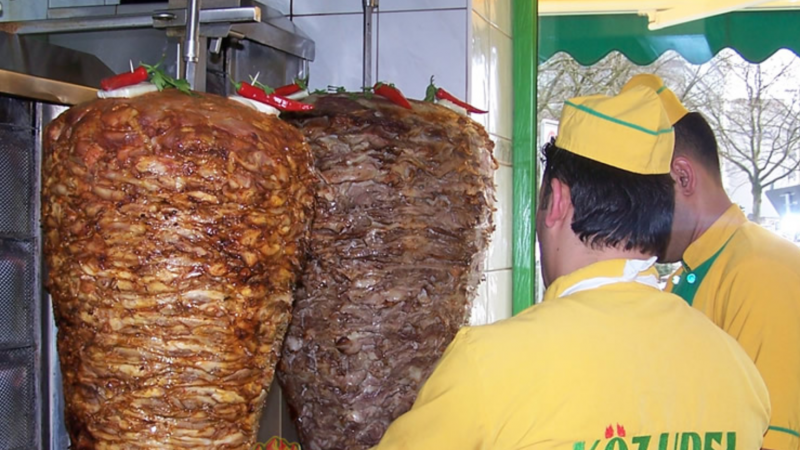 Kebabs In Hamburg