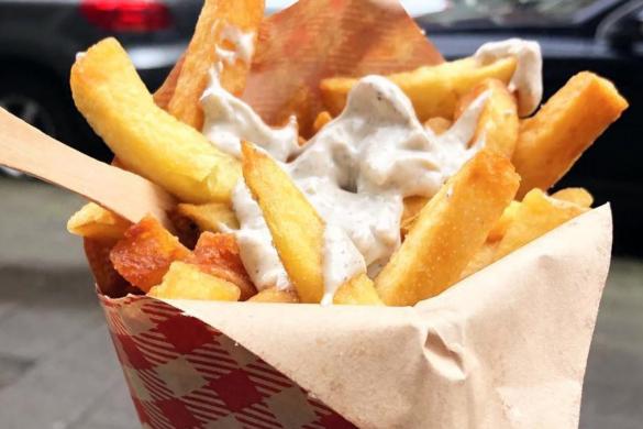 Fries in Amsterdam