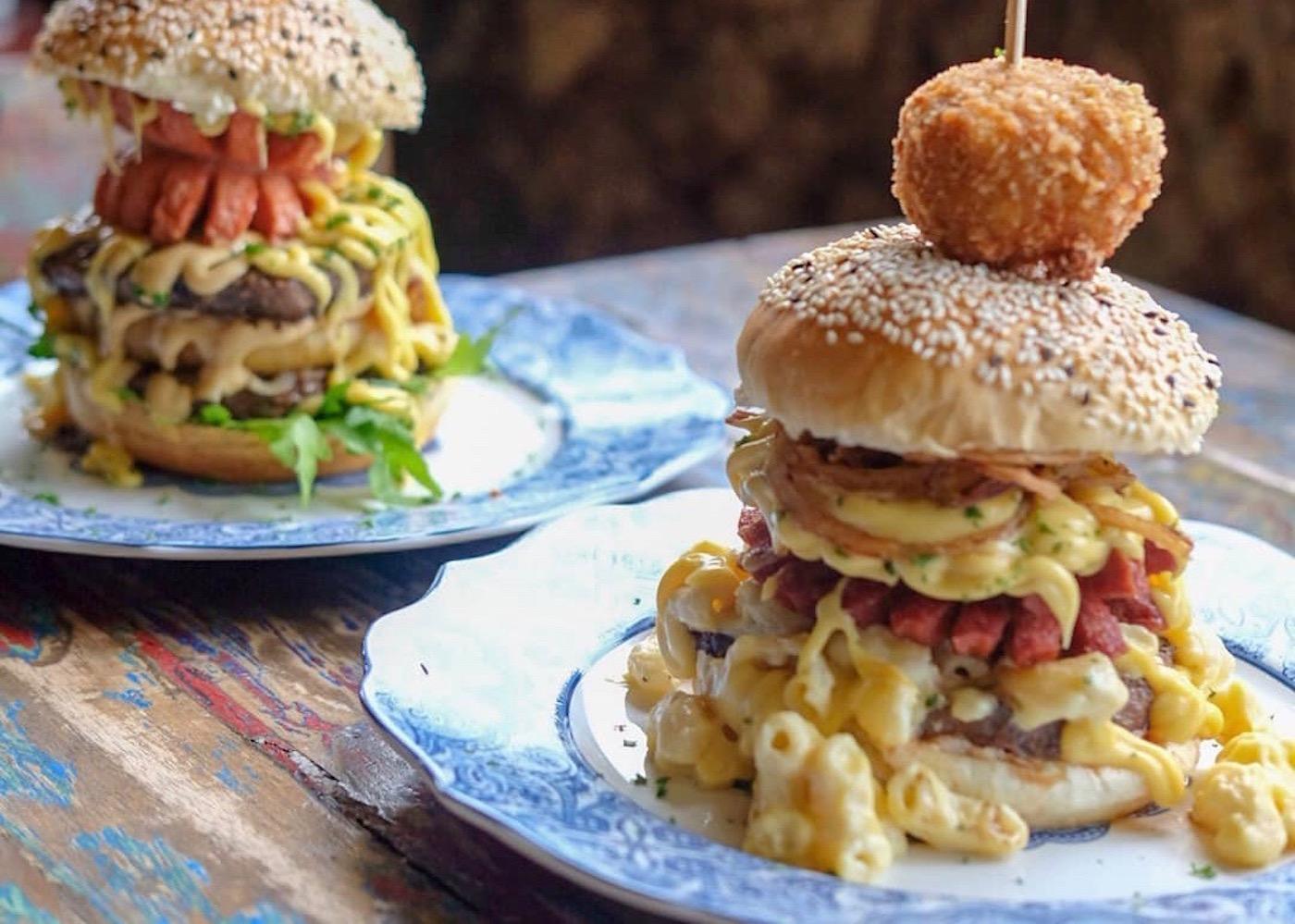 Burgers in Indonesia