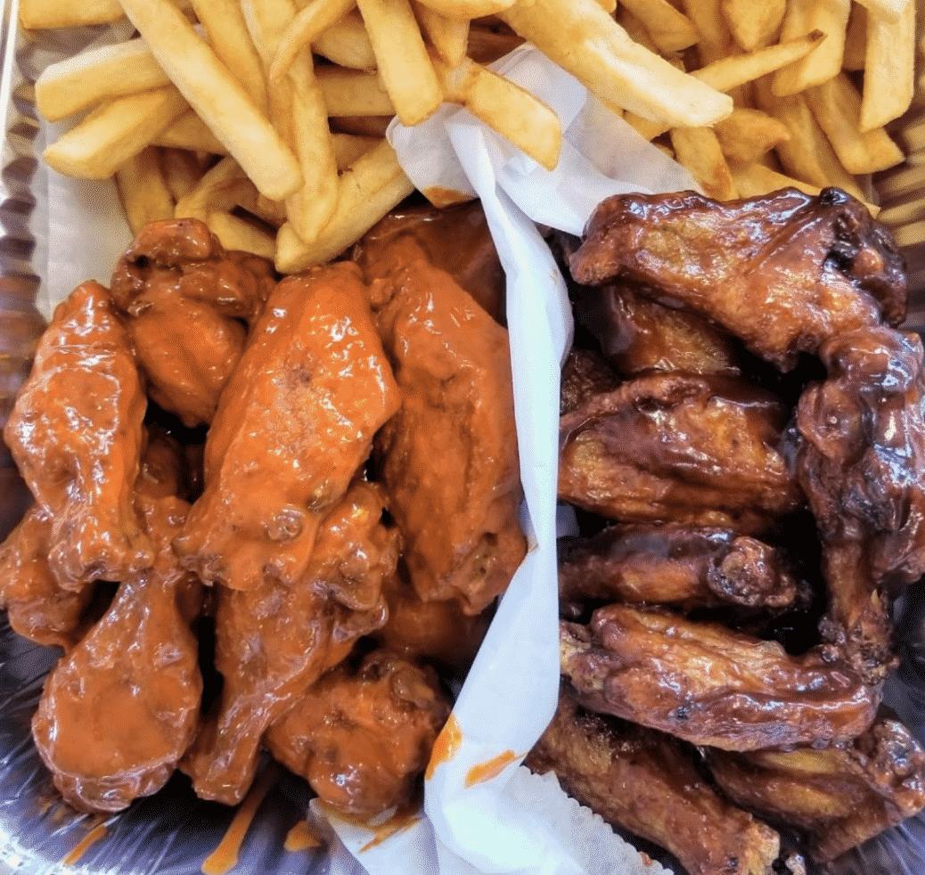 Chicken Wings In Louisiana