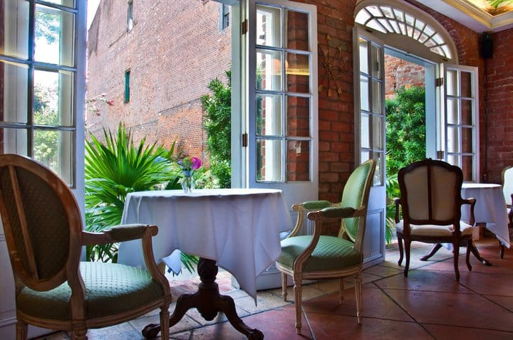 romantic restaurants New Orleans