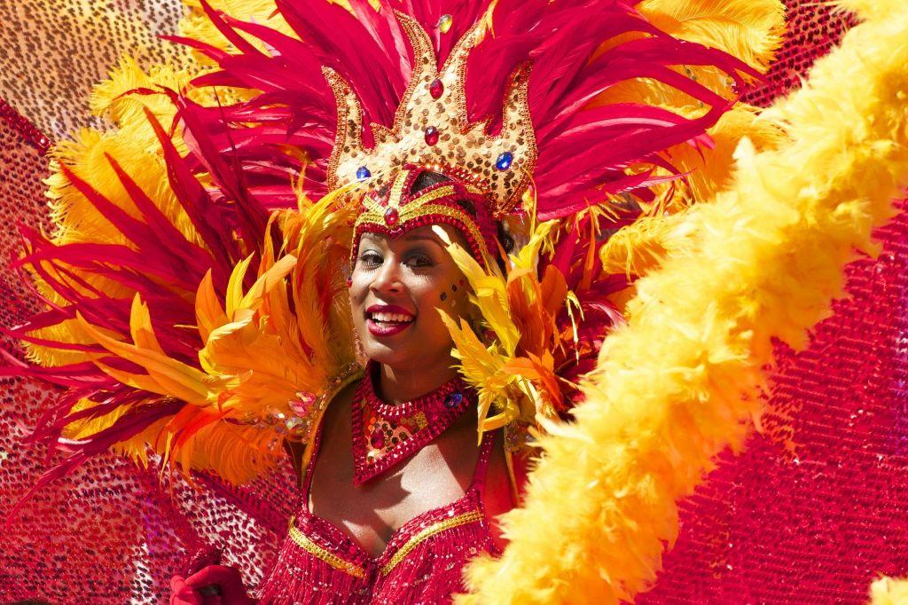 Traditional Samba Dancer Rio Carnaval