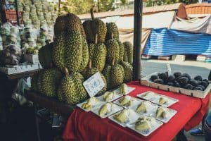 Durian smelliest fruit
