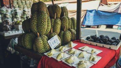 Durian smelliest fruit