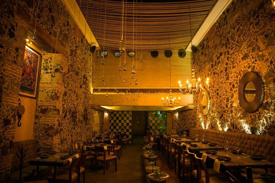 romantic restaurants Mexico City