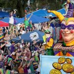 Mardi Gras parade - New Orleans