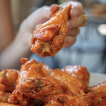 North Carolina chicken wings