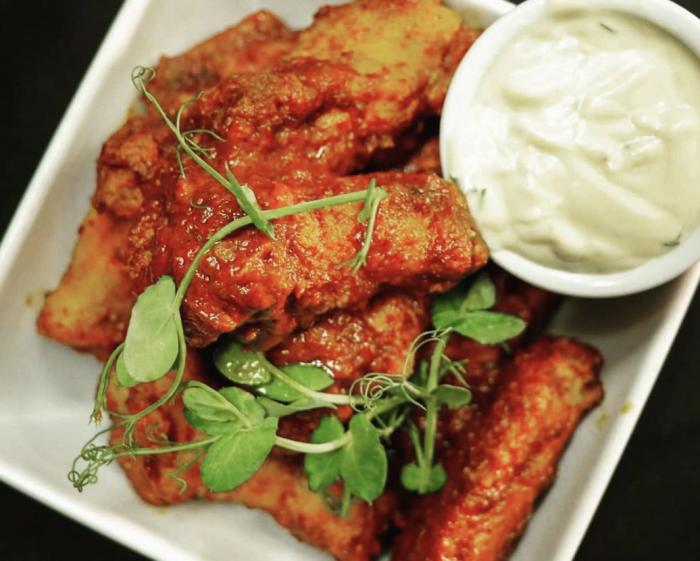 chicken wings wellington