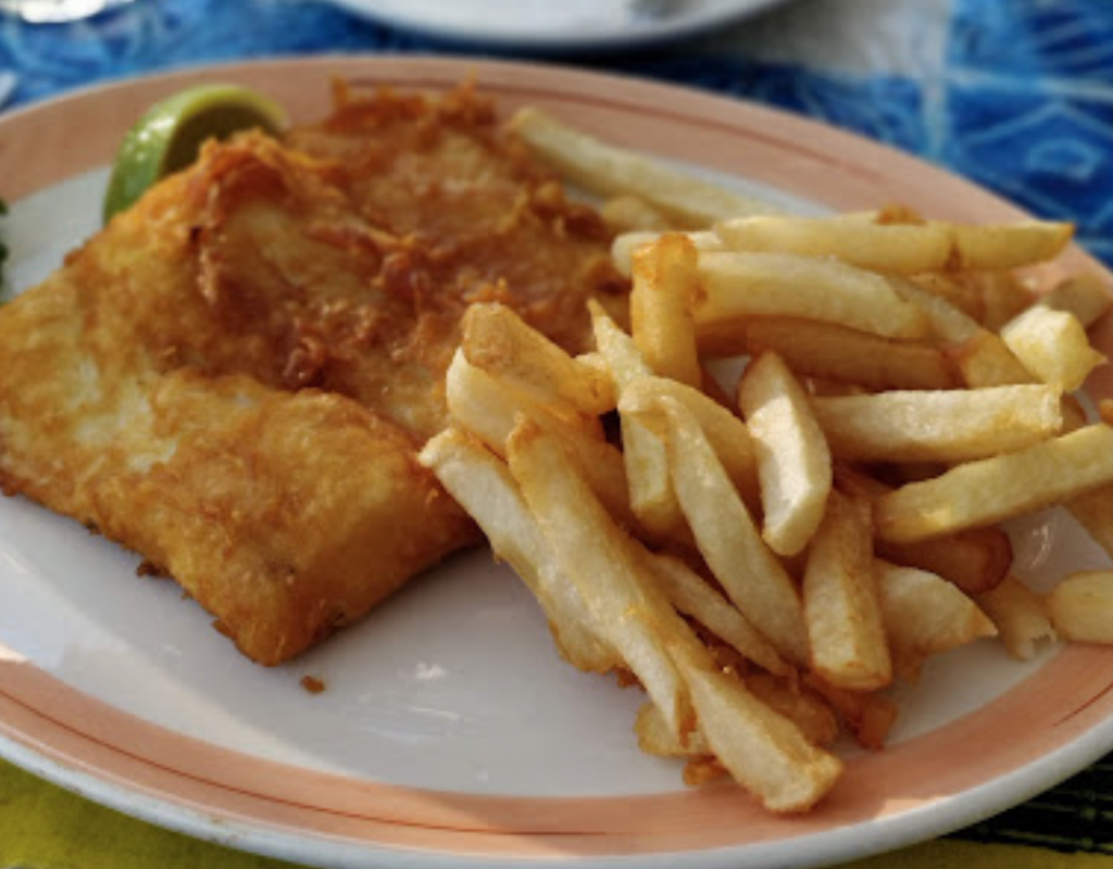 fish and chips Cape Town