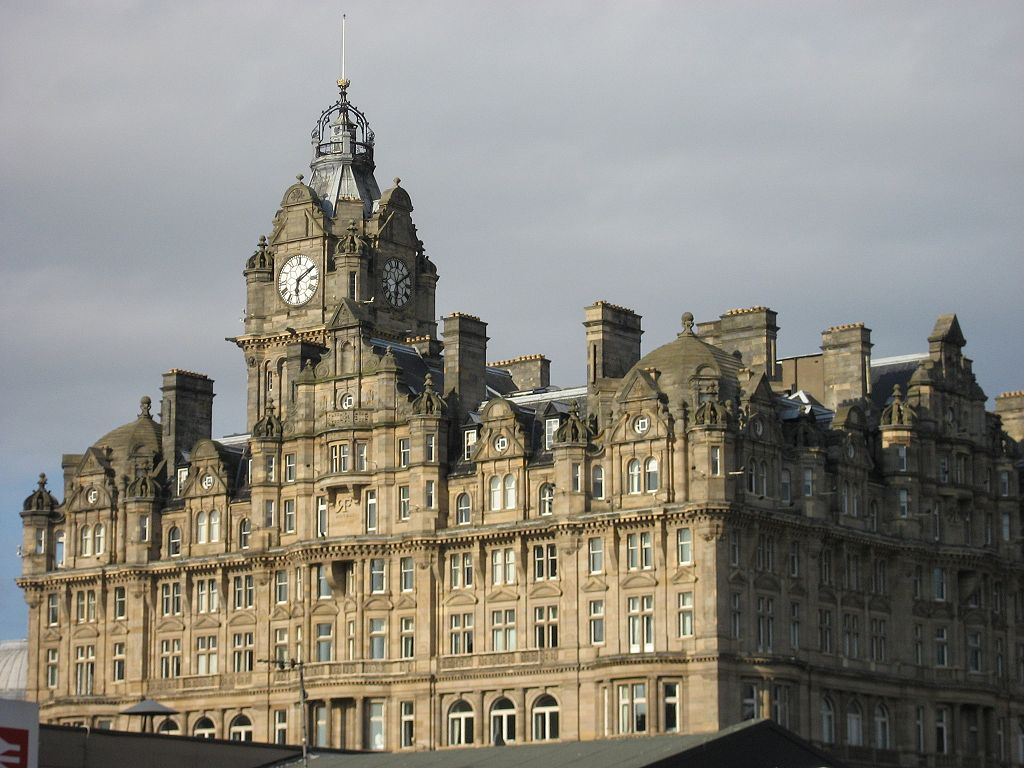 Balmoral Hotel where JK Rowling finished the Harry Potter series