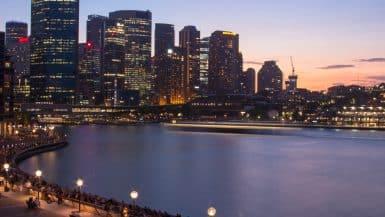 view of circular quay sydney opera house