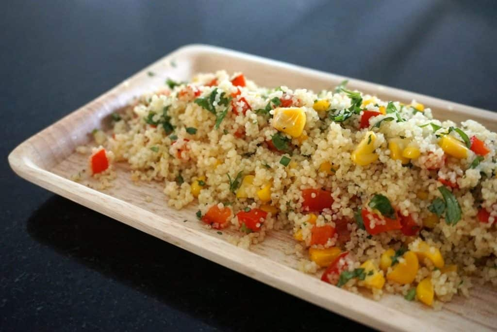 Coriander and lemon couscous recipe