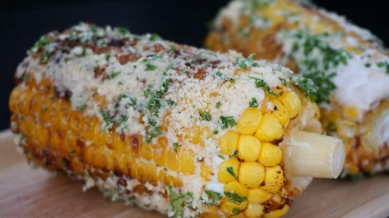 Mexican Style Roasted Corn