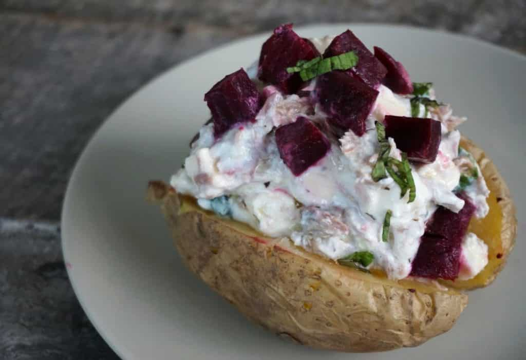 tinned tuna baked potato recipe